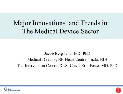 Major Innovations  and Trends in The Medical Device Sector